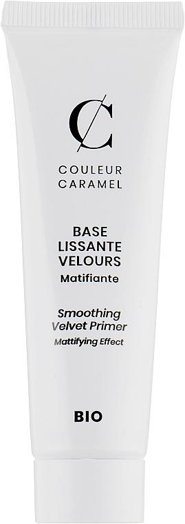 Матирующая база под макияж - Couleur Caramel Smoothing Velvet Primer