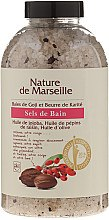Духи, Парфюмерия, косметика Соль для ванны с ароматом ягод годжи и масла ши - Nature de Marseille
