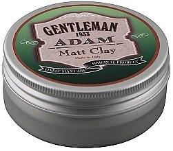 Духи, Парфюмерия, косметика Глиняная помада для волос - Gentleman Adam Matt Clay