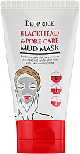 Духи, Парфюмерия, косметика Очищающая детокс-маска для лица - Deoproce Blackhead & Pore Care Mud Mask