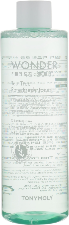 Тонер для лица с экстрактом чайного дерева - Tony Moly Wonder Tee Tree Pore Fresh Toner
