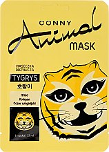 """Духи, Парфюмерия, косметика Питательная маска для лица """"Тигр"""" - Conny Animal Mask Tygrys"""