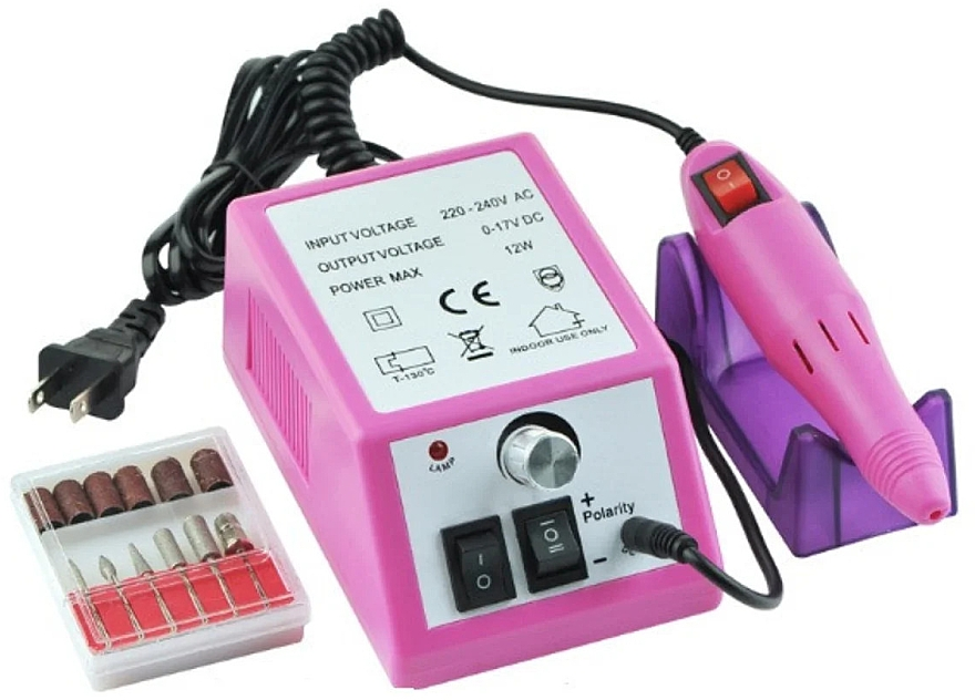 Фрезер для маникюра и педикюра, розовый - Lina 2000 Nail Drill