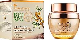 Духи, Парфюмерия, косметика Нежный крем для кожи вокруг глаз - Sea of Spa Bio Spa Delicate Eye Cream