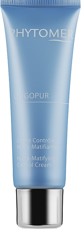 Увлажняющий матирующий крем-флюид - Phytomer OligoPur Hydra-Matifying Control Cream
