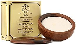 "Духи, Парфюмерия, косметика Мыло для бритья ""Сандаловое дерево"" - Taylor Of Old Bond Street Sandalwood Herbal Shaving Soap"