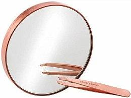 Духи, Парфюмерия, косметика Мини-пинцет и зеркало - Tweezerman Mini Slant & 10X Mirror