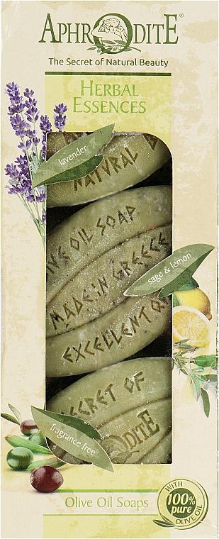 Подарочный набор - Aphrodite Herbal Essences (soap/3x100g)