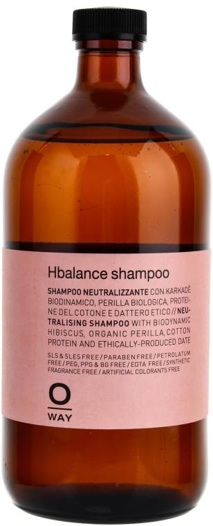 Шампунь для волос при применении щелочных средств - Oway Hbalance Shampoo