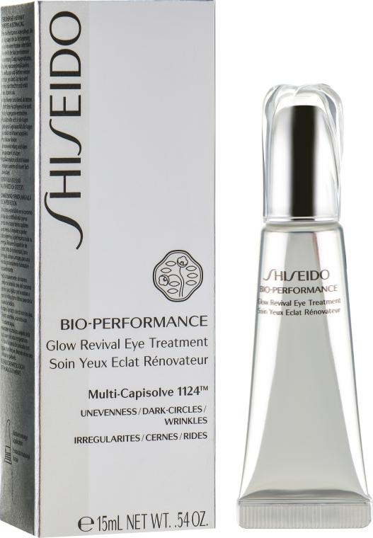 Интенсивный корректирующий крем для глаз - Shiseido Bio-Performance Glow Revival Eye Treatment