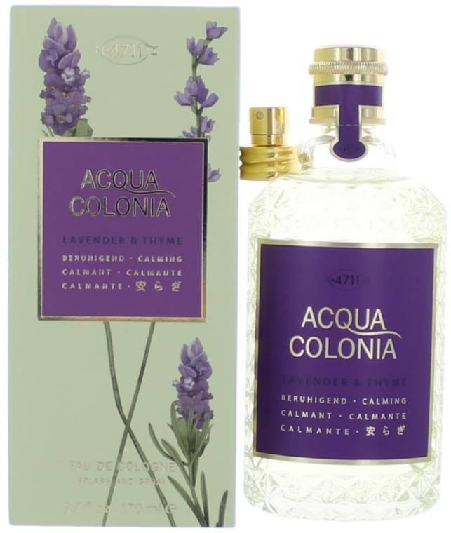 Maurer & Wirtz 4711 Acqua Colonia Lavender & Thyme - Одеколон