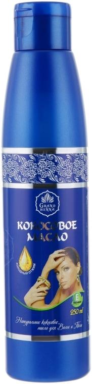 Натуральное кокосовое масло для волос и тела - Grand Henna Coconut Oil