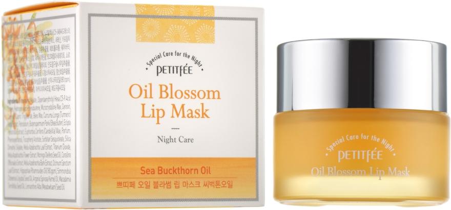 Ночная маская для губ с витамином Е и маслом облепихи - Petitfee&Koelf Oil Blossom Lip Mask
