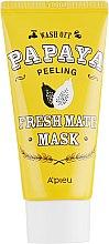 Духи, Парфюмерия, косметика Очищающая осветляющая пилинг-маска папайя - A'pieu Fresh Mate Mask
