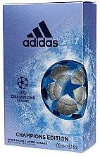 Парфумерія, косметика Adidas UEFA Champions League Champions Edition - Лосьйон після гоління