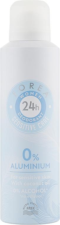 """Дезодорант """"Чувствительная забота"""" - Forea Sensetive Care Deodorant"""