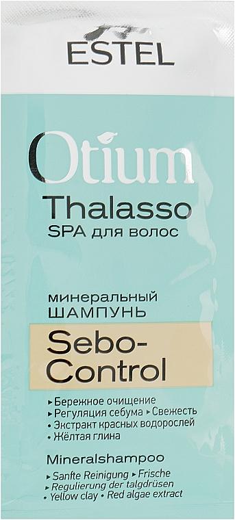 Минеральный шампунь для волос, себорегулирующий - Estel Professional Otium Thalasso Sebo-Control Mineral Shampoo (пробник)
