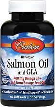 Духи, Парфюмерия, косметика Лососевое масло, капсулы - Carlson Labs Salmon Oil and GLA