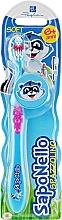 Духи, Парфюмерия, косметика Детская зубная щетка, мягкая 6+, голубая - SapoNello