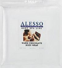 Духи, Парфюмерия, косметика Теплое шоколадное обертывание для тела - Alesso Warm Chocolate Body Wrap
