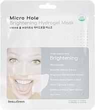 Духи, Парфюмерия, косметика Осветляющая маска для лица - Beauugreen Microhole Clear Brightening Hydrogel Mask