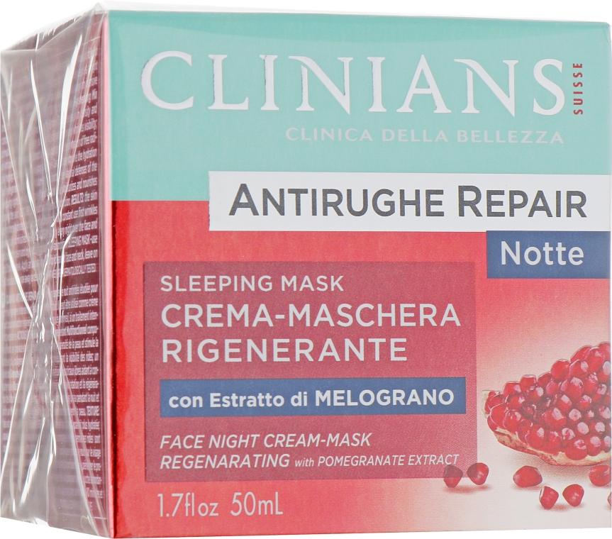 Крем ночной против морщин - Clinians Melograno Night Cream