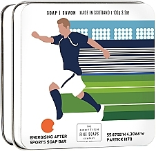 "Духи, Парфюмерия, косметика Мыло ""Футбол"" - Scottish Fine Soaps Football Sports Soap In A Tin"