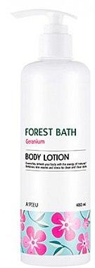 Лосьон для тела - A'pieu Forest Bath Body Lotion Geranium — фото N1