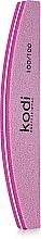 "Духи, Парфюмерия, косметика Баф для ногтей ""Полумесяц"" - Kodi Professional Pink, 100/100"