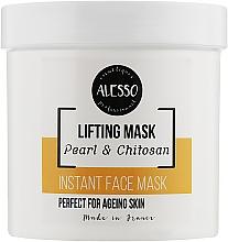 Духи, Парфюмерия, косметика Жемчужная альгинатная маска растворимая для лица с лифтинг эффектом - Alesso Professionnel Pearl & Chitosan Lifting Mask