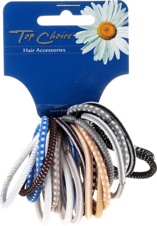 Резинки для волос 20шт, микс цветов, 22289 - Top Choice