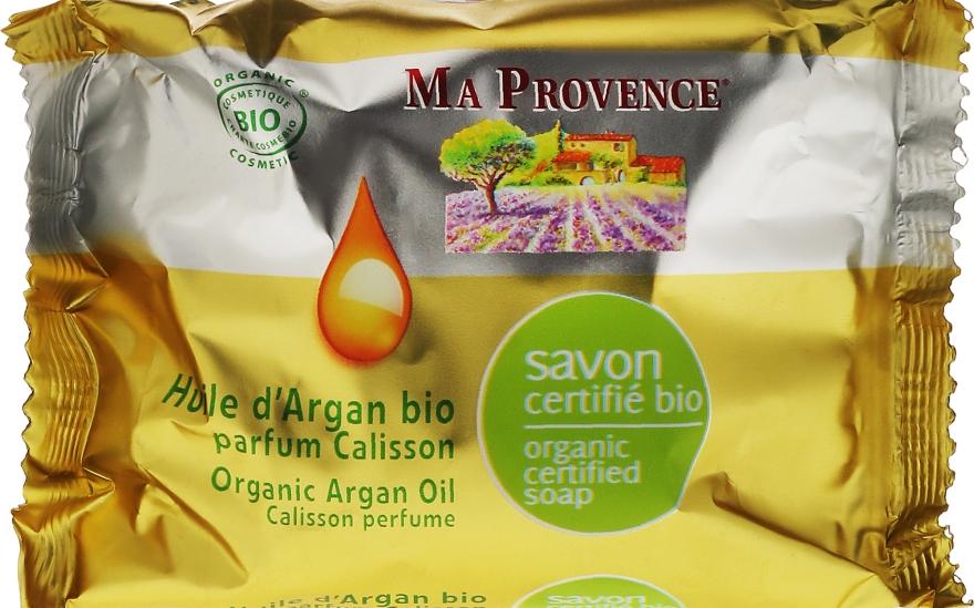 """Органическое мыло с ароматом калиссона """"Аргановое масло"""" - Ma Provence Nature Soap"""