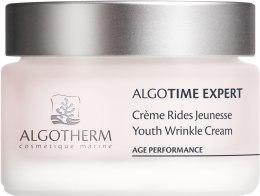 Духи, Парфюмерия, косметика Дневной крем для лица - Algotherm Algotime Expert Youth Wrinkle Cream