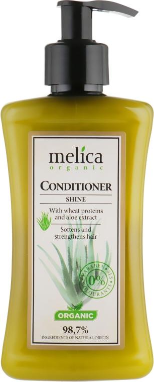 """Бальзам-кондиционер для волос """"Здоровый блеск"""" - Melica Organic Shine Conditioner"""
