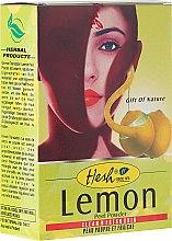 Духи, Парфюмерия, косметика Тонизирующая маска для лица - Hesh Lemon Peel Powder