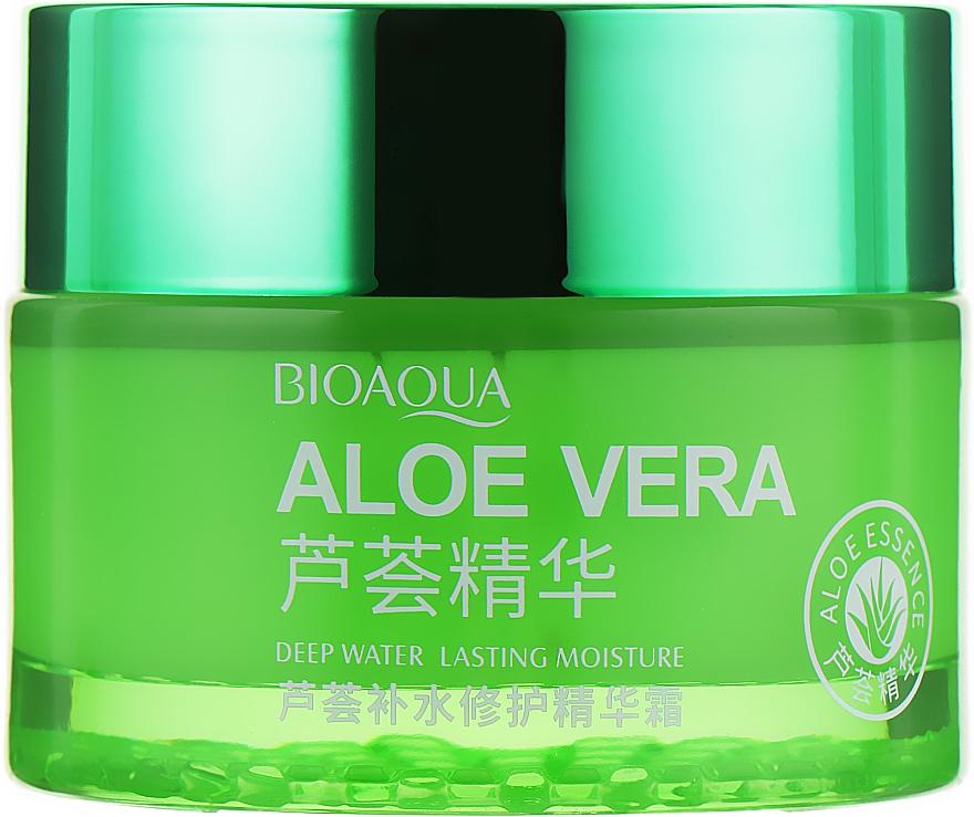 Крем-гель для лица и шеи с Алоэ 92% - Bioaqua Aloe Vera 92% Moisturizing Cream