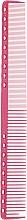 Духи, Парфюмерия, косметика Расческа для стрижки, 230мм, розовая - Y.S.PARK Professional 331 Cutting Combs Pink