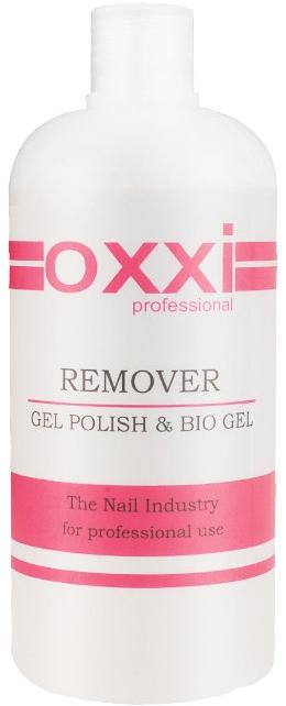 Жидкость для снятия гель-лака и акрила - Oxxi Professional Remover Gel Polish & Bio Gel