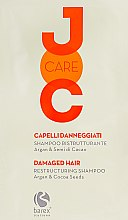 """Духи, Парфюмерия, косметика Шампунь """"Глубокое восстановление"""" с аргановым маслом и какао бобами - Barex Italiana JOC Care Restructuring Shampoo Argan & Cacao Seeds"""