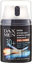 Духи, Парфюмерия, косметика Энергетизирующий крем против признаков усталости - DAX Men Full Energy Energizing Cream 30+