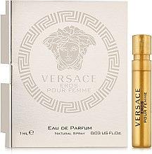 Духи, Парфюмерия, косметика Versace Eros Pour Femme - Парфюмированная вода (пробник)