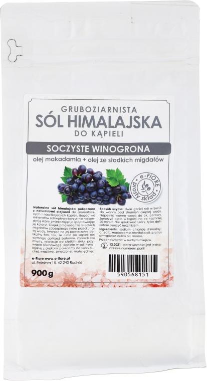 """Гималайская соль """"Сочный виноград"""" - E-fiore Himalayan Salt Juicy Grapes"""