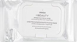 Духи, Парфюмерия, косметика Очищающие тонизирующие салфетки - Image Skincare I Beauty Refreshing Facial Wipes