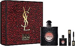 Парфумерія, косметика Yves Saint Laurent Black Opium - Набір (edp/90ml + edp/7,5 ml + mascara/2ml)