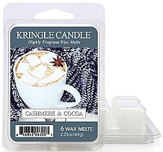 Духи, Парфюмерия, косметика Ароматический воск - Kringle Candle Cashmere & Cocoa Wax Melt