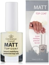 Парфумерія, косметика Сушка-покриття для нігтів - Constance Carroll Matt
