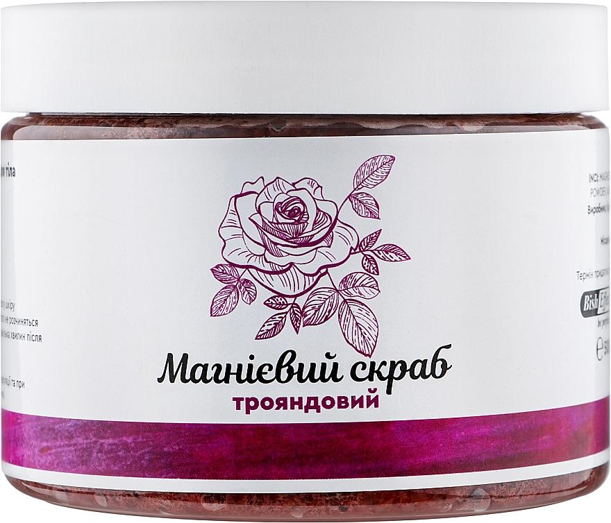 """Магниевый скраб для тела розовый """"Бишофит Полтавский"""" - Bisheffect"""