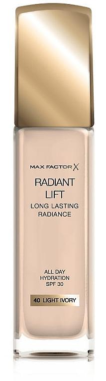 """Тональная основа """"Эффект сияния"""" - Max Factor Radiant Lift Foundation SPF 30"""
