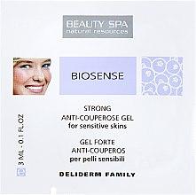 Духи, Парфюмерия, косметика Антикуперозный стронг-гель для лица - Beauty Spa Biosense Strong Anti-Couperose Gel (пробник)
