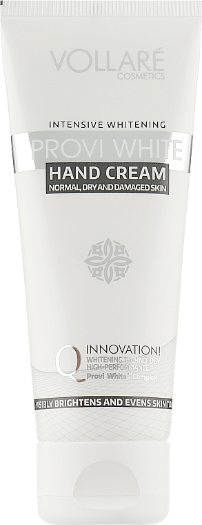 Интенсивно отбеливающий крем для рук - Verona Laboratories Provi White Intensive Whitening Hand Cream